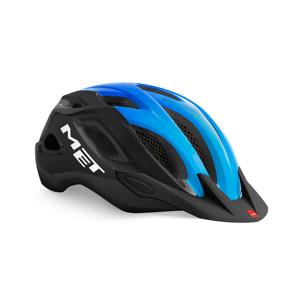 Cyklistická helma Met Crossover Barva: černá/modrá