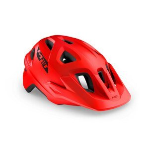 Cyklistická helma MET Echo Velikost helmy: 52–57 cm / Barva: červená