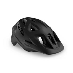 Cyklistická helma Met Echo Velikost helmy: 57-60 cm / Barva: černá