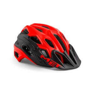 Cyklistická helma MET Lupo Velikost helmy: 58-61 cm / Barva: červená/černá