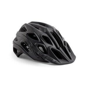 Cyklistická helma MET Lupo Velikost helmy: 54-58 cm / Barva: černá
