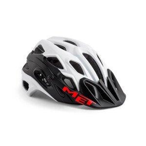 Cyklistická helma MET Lupo Velikost helmy: 54-58 cm / Barva: bílá/černá
