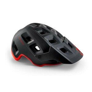 Cyklistická helma Met Terranova Velikost helmy: 52–56 cm / Barva: černá/červená