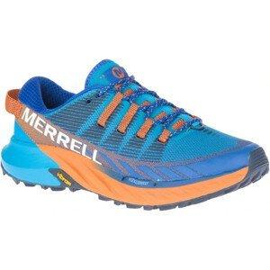 Dámské běžecké boty Merrell Agility Peak 4 Velikost bot (EU): 38,5 / Barva: modrá/oranžová