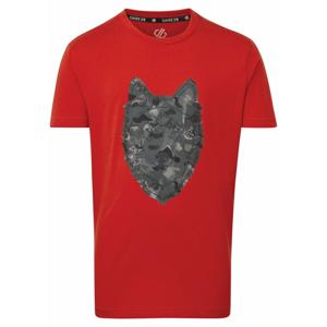 Dětské triko Dare 2b Go Beyond Tee Dětská velikost: 164 / Barva: červená