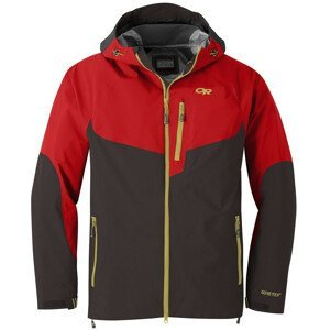 Pánská bunda Outdoor Research Hemispheres Jacket Velikost: XL / Barva: červená/hnědá