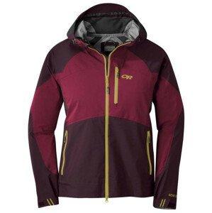 Dámská bunda Outdoor Research Hemispheres Jacket Velikost: M / Barva: červená