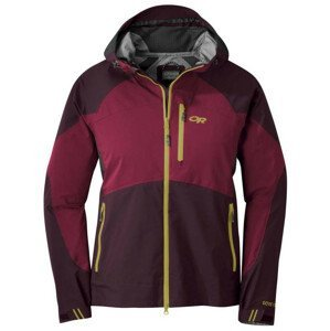 Dámská bunda Outdoor Research Hemispheres Jacket Velikost: L / Barva: červená