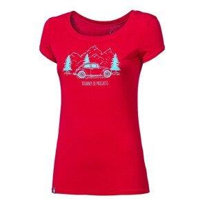 """Dámské triko Progress OS LIBERTA """"BEETLE""""24IK Velikost: S / Barva: červená"""