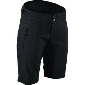 Dámské cyklistické kalhoty Silvini Patria Velikost: XXL / Délka kalhot: short / Barva: černá