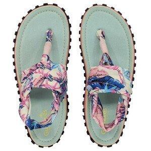 Dámské sandále Gumbies Slingback Mint & Pink Velikost bot (EU): 36 / Barva: bílá/růžová/modrá