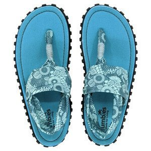Dámské sandály Gumbies Slingback Velikost bot (EU): 39 / Barva: tyrkysová/modrá