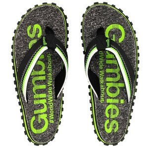 Žabky Gumbies Cairns Velikost bot (EU): 48 / Barva: šedá/zelená