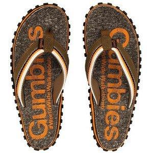 Žabky Gumbies Cairns Orange Velikost bot (EU): 36 / Barva: oranžová/šedá