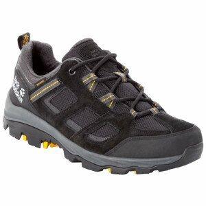 Pánské boty Jack Wolfskin Vojo 3 Texapore Low M Velikost bot (EU): 44,5 / Barva: černá