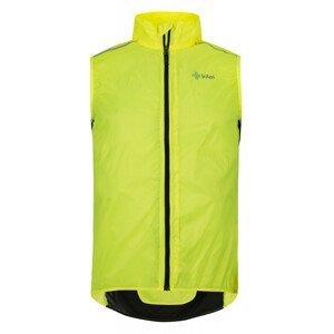 Pánská vesta Kilpi Flow-M Velikost: L / Barva: žlutá