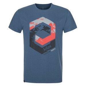 Pánské triko Kilpi Hatler-M Velikost: XXL / Barva: modrá