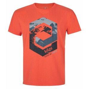 Pánské triko Kilpi Hatler-M Velikost: XXL / Barva: červená