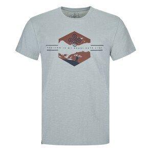 Pánské triko Kilpi Ferne-M Velikost: L / Barva: šedá