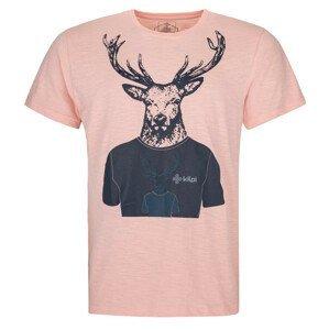 Pánské triko Kilpi Rizon-M Velikost: M / Barva: růžová