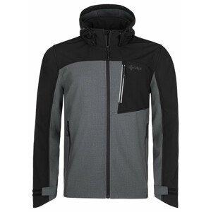 Pánská bunda Kilpi Ravio-M Velikost: XXXL / Barva: šedá