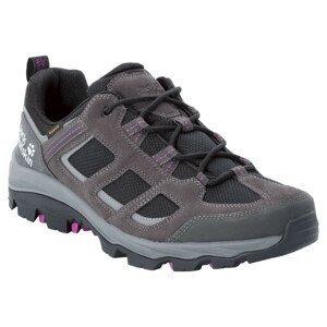 Dámské boty Jack Wolfskin Vojo 3 Texapore Low M Velikost bot (EU): 39,5 / Barva: šedá/fialová
