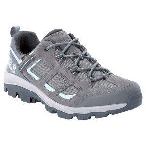 Dámské boty Jack Wolfskin Vojo 3 Texapore Low M Velikost bot (EU): 39,5 / Barva: šedá/modrá