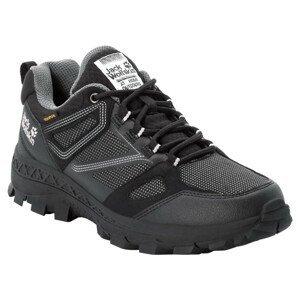 Dámské boty Jack Wolfskin Downhill Texapore Low W Velikost bot (EU): 42 / Barva: černá