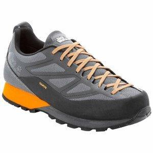 Pánské boty Jack Wolfskin Scrambler 2 Texapore Low M Velikost bot (EU): 45,5 / Barva: černá/oranžová