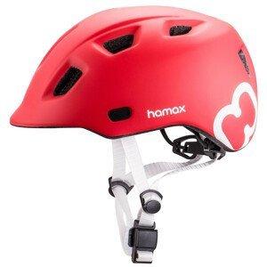 Dětská cyklistická helma Hamax Thundercap Velikost helmy: 52-57 cm / Barva: červená
