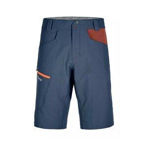 Pánské kraťasy Ortovox Pelmo Shorts M Velikost: XL / Barva: modrá