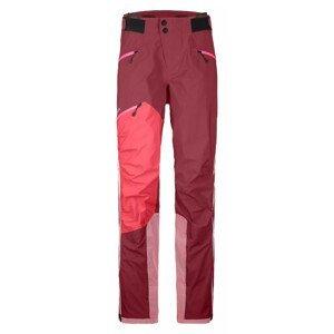 Dámské kalhoty Ortovox Westalpen 3L Pants W Velikost: M / Barva: červená