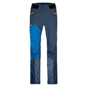 Pánské kalhoty Ortovox Westalpen 3L Pants M Velikost: L / Barva: modrá