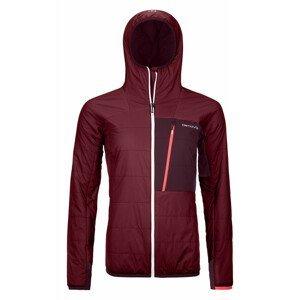 Dámská bunda Ortovox Swisswool Piz Duan Jacket W Velikost: M / Barva: červená