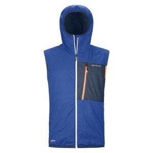 Pánská vesta Ortovox Swisswool Piz Duan Vest M Velikost: L / Barva: modrá