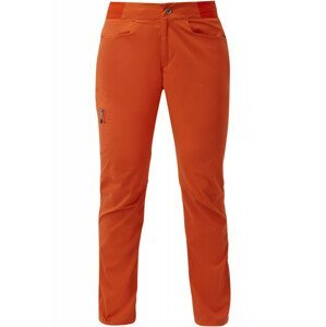Dámské kalhoty Mountain Equipment Dihedral Wmns Pant Velikost: S / Délka kalhot: regular / Barva: oranžová