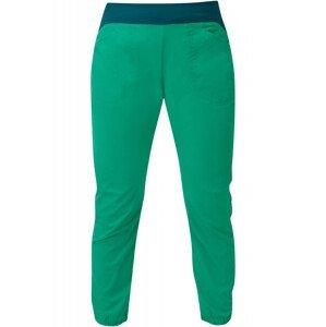 Dámské kalhoty Mountain Equipment Dihedral Wmns Crop Pant Velikost: L / Barva: zelená