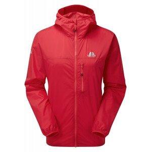 Dámská bunda Mountain Equipment Aerofoil Full zip Wmns Jacket Velikost: M / Barva: červená