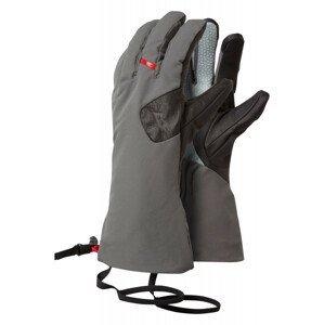 Rukavice Mountain Equipment Direkt Gauntlet Velikost rukavic: XXL / Barva: šedá/černá