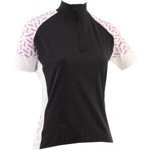 Dámský cyklistický dres Axon Nippon D Velikost: 44 / Barva: černá/bílá