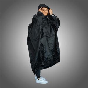Pončo Trekmates Deluxe Barva: černá