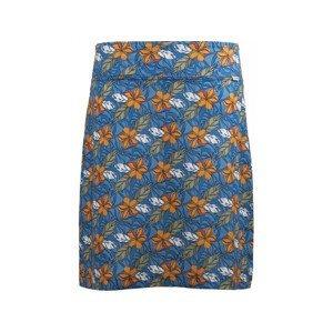 Letní funkční sukně Skhoop Fia Knee Velikost: 36 / Barva: modrá/oranžová