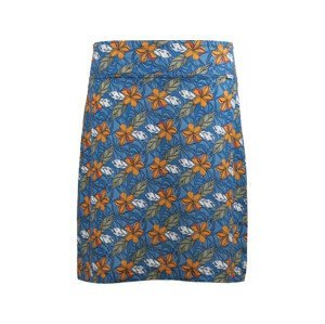 Sukně Skhoop Fia Knee Velikost: 40 / Barva: modrá/oranžová