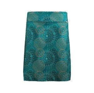 Letní funkční sukně Skhoop Fiona Knee Velikost: 40 / Barva: zelená