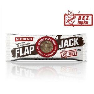 Tyčinka Nutrend Flapjack Gluten Free Příchuť: jahoda+višeň