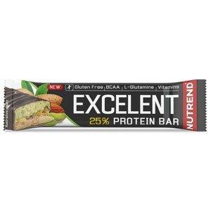 Tyčinka Nutrend Excelent Protein Bar Double Příchuť: mandle+pistácie s pistáciemi