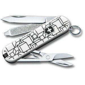 Kapesní nůž Victorinox Victorinox Classic 58 mm Barva: bílá/černá