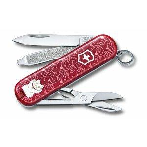 Kapesní nůž Victorinox Victorinox Classic 58 mm Barva: červená