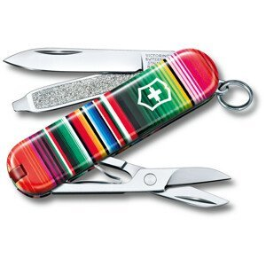 Kapesní nůž Victorinox Victorinox Classic 58 mm Barva: zelená/červená