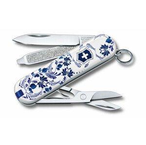 Kapesní nůž Victorinox Victorinox Classic 58 mm Barva: bílá/modrá
